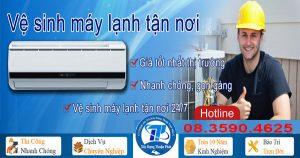 Vệ sinh máy lạnh tại TPHCM giá rẻ