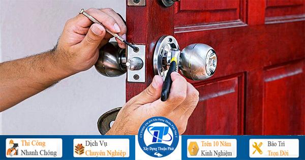 Sửa khóa tại nhà