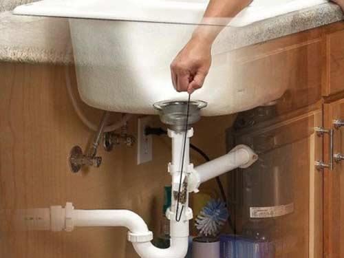 Thông tắc ống nước