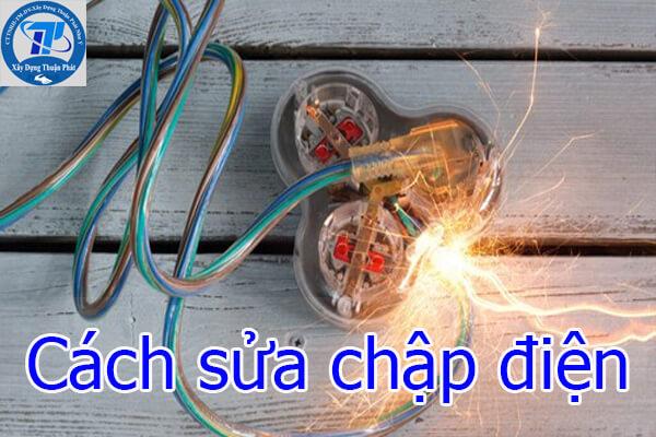 Cách sửa chập điện